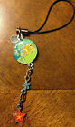 DISNEY NEMO CELL PHONE CHARM STRAP STAINLESS STEEL ATTACH TO ANYTHING