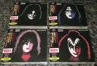 KISS SOLO Japan 4 x CD full set OBI Paul Stanley GENE SIMMONS Peter Criss ACE