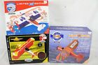 3 New NIB Vintage Diecast Plane Toy Lot Collection Gulf Shell Pepsi Rare Old