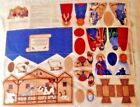 Fabric Nativity Scene Sewing Fabric Panel VIP Cranston Keepsake Crafts Creche