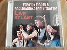 PRAYING MANTIS & PAUL DIANNO, DENNIS STRATTON (LIVE AT LAST) RARE CD