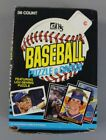 1985 Donruss Baseball Puzzle & Cards Unwrapped Unopened Box 36ct AN3