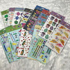 New Stickopotamus scrapbook binder stickers NIP lot of 13 Holidays travel tea