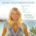 More Than Meditation with Andrea Foulkes: Guided Jo... - Foulkes, Andrea CD 02VG