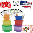 FIX PORTION CONTROL CONTAINERS 21 Day Kit Beach Body Food Plan Diet Weight Loss