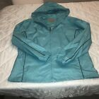 COLD STORAGE FOUL WEATHER GEAR FOR HER RAIN COAT BLUE SIZE LARGE