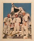 APOLLO 12 OFFICIAL NASA 8x10 Photo Crew in front of LEM
