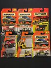 Matchbox Construction Vehicles Tractor Mover Hauler Vintage 6 Packs