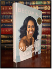 Becoming SIGNED by MICHELLE OBAMA New Hardback 1st Edition First Printing