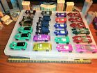 NEAR MINT LOT OF 24 VINTAGE SERIES HOT WHEELS REDLINES WITH NEW CASE
