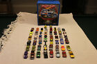 Lot of 50 Hot Wheels with Speed Shop Hot Wheels 100 Car Case