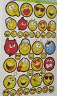 STICKERS SCRAP BOOKING EMOJIS STICKERS LARGE LOT OF 258 MIXED SEE MY OTHER ITEMS