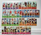 1962 FLEER FOOTBALL PARTIAL SET 52 88 - Plus 6 Dups - 58 cards! Nice Condition!