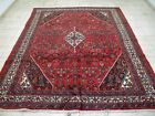 10X7 1940's GORGEOUS AUTHENTIC HAND KNOTTED 70+YRS ANTIQUE HAMADANN ORIENTAL RUG