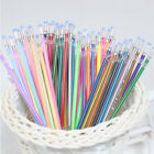 48 Colors Set Gel Pen Refills Glitter Coloring Drawing Craft Markers Stationery