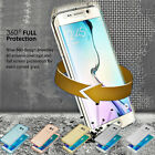 360 Clear Soft TPU Silicone Case for Samsung Galaxy NOTE 8 S8 S9 A6 A8 J2 2018