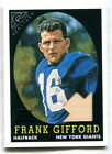 Frank Gifford Cards, Rookie Cards and Autographed Memorabilia Guide 14
