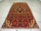 9X4 1940's GORGEOUS ANTIQUE HAND KNOTTED 70+YRS LILIHANN ORIENTAL RUG RUNNER