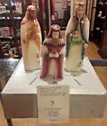 Fenton Glass Nativity The Wise Men 3 Piece Set 1998 with box