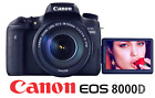 CANON EOS REBEL 8000D DSLR CAMERA 242MP NEAR MINT T6S 760D BODY ONLY