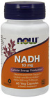 Now Foods NADH 10mg + D-Ribose 60 caps (NADH)
