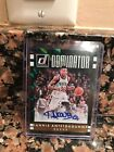 2016-17 DONRUSS DOMINATOR GREEN GOLD GIANNIS ANTETOKOUNMPO AUTO 10
