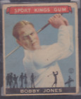 Super Clean and Nice 1933 Sport Kings # 38 Bobby Jones Golf SGC 35 GOOD+