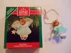 Hallmark Angel Kitty Michele Pyda Sevcik Signed Keepsake Christmas Ornament 1990
