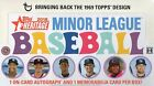 2018 Topps Heritage Minor Leagues (1969 Design) Baseball Cards Hobby Box