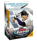 2018 Topps Finest Baseball Cards Hobby Master Box
