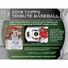 2019 Topps Tribute Baseball Hobby Box Presell 7 24 19 Free Shipping
