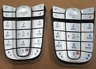 2x Nokia 6010 3595 Cellphone Keypad Original Replacement Grey Silver OEM