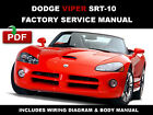 DODGE VIPER SRT10 ROADSTER 2003 2004 2005 2006 SERVICE REPAIR WORKSHOP MANUAL