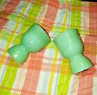 VINTAGE FIRE KING JADEITE REST WARE DOUBLE EGG CUP 5 available  *MINT CONDITION*