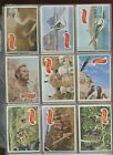 1969 Topps Planet of the Apes Movie Complete Card Set of 44 EX to NM some lesser