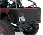 S908D Warrior Steel Tailgate Cover Jeep Wrangler YJ 1987 1995