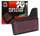 K&N 33-5029 Replacement Drop-in Air Filter 2015-2019 Ford Mustang 2.3L 3.7L 5.0L