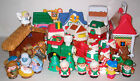 Fisher Price Little People Christmas Nativity Lot MANGER SANTA VILLAGE
