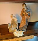 LLADRO NAO NATIVITY SET HOLY FAMILY Joseph w/out staff Mary Jesus FREE SHIP