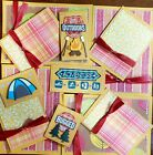 Premade Scrapbook Page SEWN Embellish Kit Card Making 12 piecesRugged Outdoor