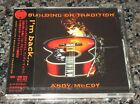 SEALED!  Andy McCoy HANOI ROCKS Japan PROMO issue CD 2 bonus tracks CASE CRACKED