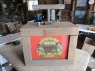 Unique Wood Jeremiah Weed Display Box Explosive TNT Plunger Design  Lot 18-52-30