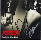 ACCEPT Balls to the Wall UDO DIRKSCHNEIDER Wolf Hoffmann Baltes Autograph SIGNED