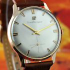 BEAUTIFUL SWISS GIRARD PERREGAUX VINTAGE 18K SOLID GOLD HAND WIND FACTORY DIAL