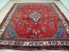 9X12 1940s EXQUISITE FINE ANTIQUE HAND KNOTTED 70+YRS WOOL LILIHAN ORIENTAL RUG