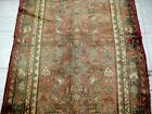 9X3 1940's GORGEOUS ANTIQUE HAND KNOTTED 70+YRS MALAYERR ORIENTAL RUG RUNNER