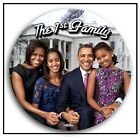 Obama Family 3 Button in See thru Gift Box