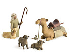 NIB 4 Pc Willow Tree Nativity SHEPHERD  STABLE ANIMALS 26105 Susan Lordi 2002