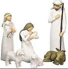 NIB 6 Pc Willow Tree Christmas Nativity Set 26005 Susan Lordi 1999 Holy Family