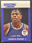 1988 Kenner Starting Lineup Cards #23 Patrick Ewing VGEX